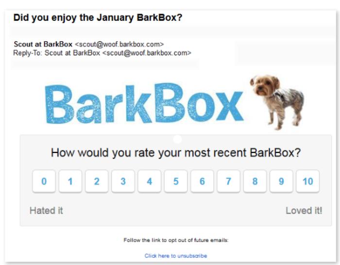 pedir valoraciones por email