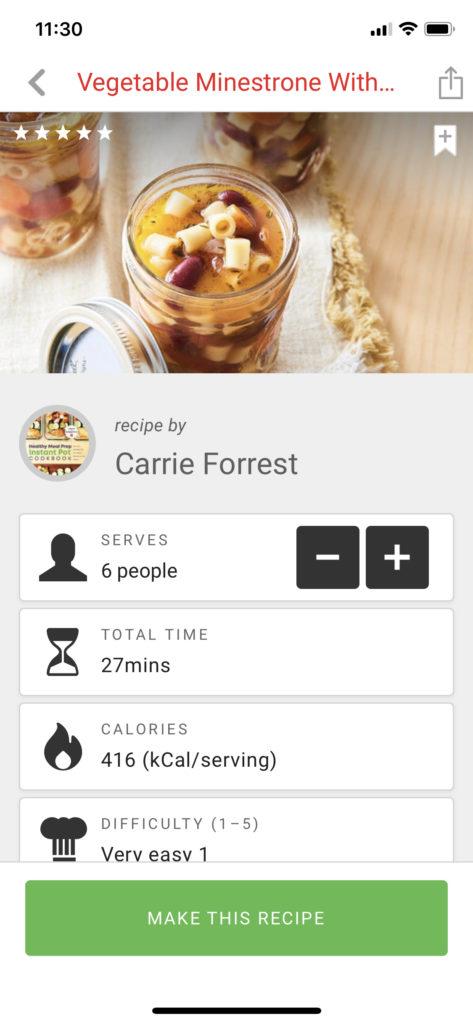 recetas creadas por usuarios de la marca